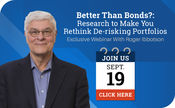 An Exclusive Webinar With Economist Roger Ibbotson