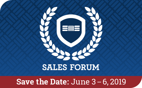 Save the Date for Sales Forum