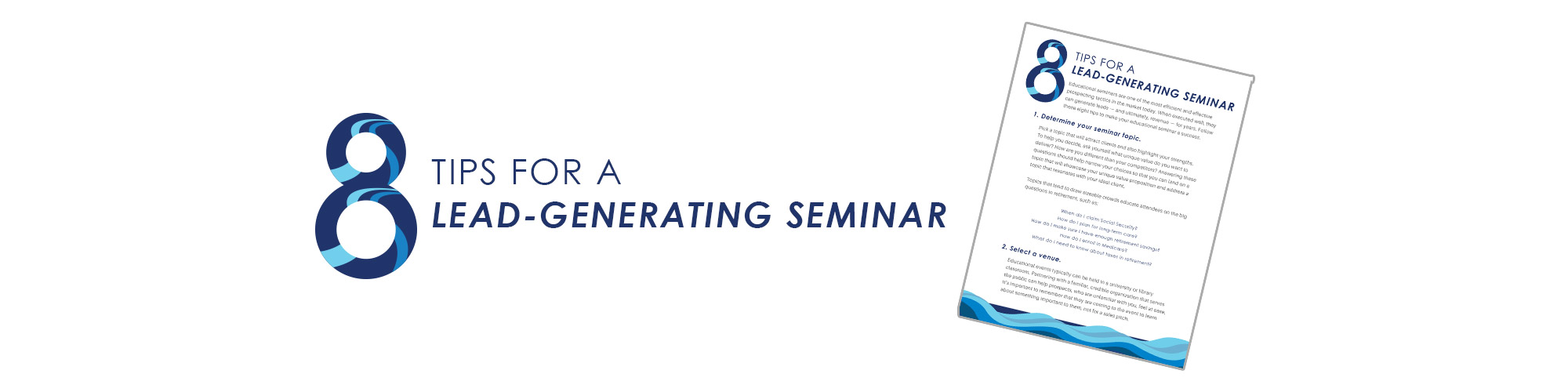 8 Tips for a Lead-Generating Seminar