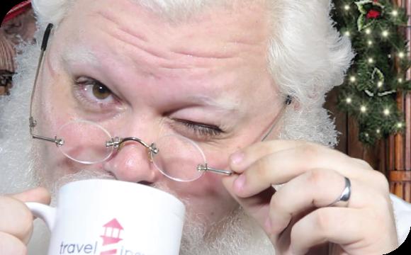Santa Shares His Travel Secret
