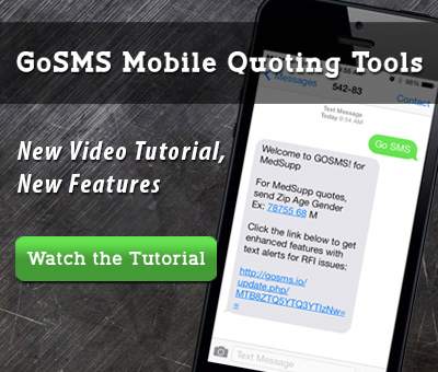 GoSMS Med Supp Mobile Quoting